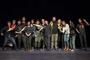 Your Pick of the Fringe winners are excited to see you again this week at Performance Works! Photo by Philip Dovey.
