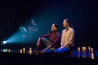 According to reliable reports, Rani Jain's production of Salt-Water Moon is elemental and lyrical. Photo by Joseph Michael.